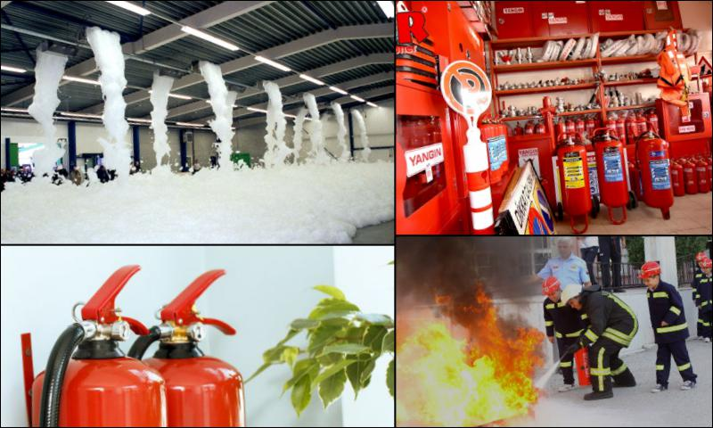 Yangın Söndürme Sistemleri Yönetmelik Şartları