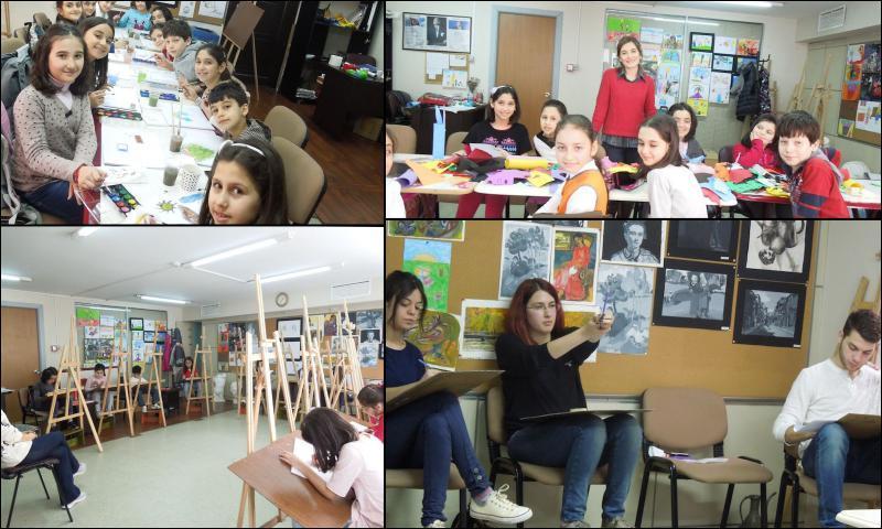 Kadıköy Güzel Sanatlar'ın Düzenledikleri Kurslar