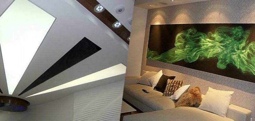 Duvar Ve Tavanlara İşlenen Sanat Nedir