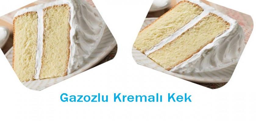 Gazozlu Kremalı Kek