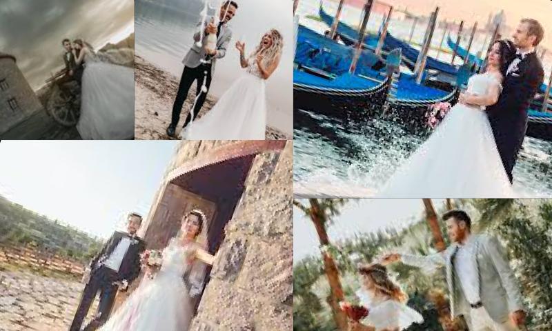 En Güzel Düğün Fotoğrafları Çekimleri