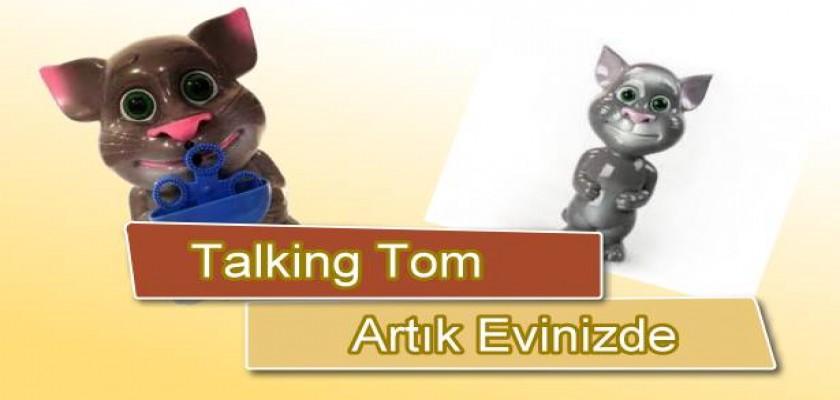Baloncuk Çıkaran Talking Tom'u Gördünüz Mü