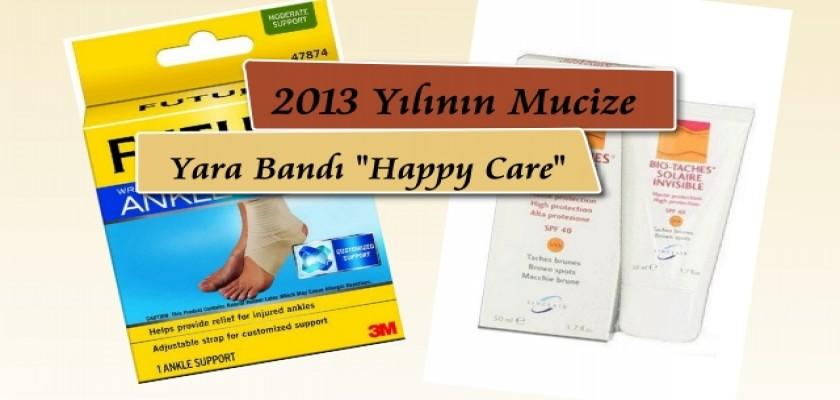"""2013 Yılının Mucize Yara Bandı """"Happy Care"""""""